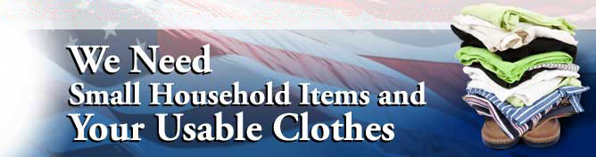 Amvets Clothing Pickup